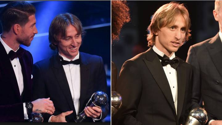Luka Modric Receives 46% Of Fan Votes In The FIFA 'Best' Award Poll