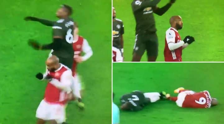 Furious Tottenham Fans Accuse Alexandre Lacazette Of Doing A Harry Kane On Paul Pogba
