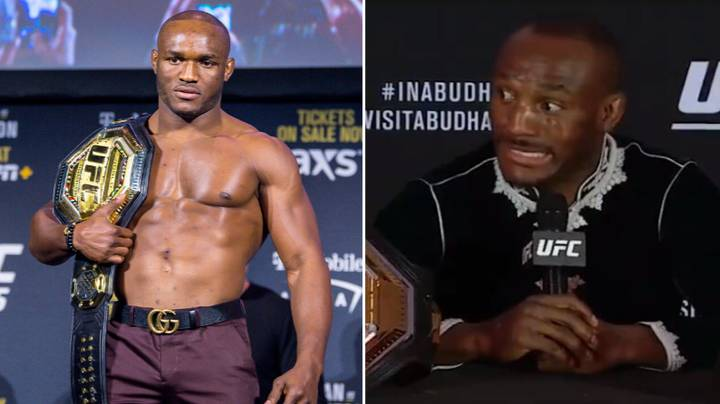 Kamaru Usman Hilariously Responds To Punter Who Bet $200k On Jorge Masvidal