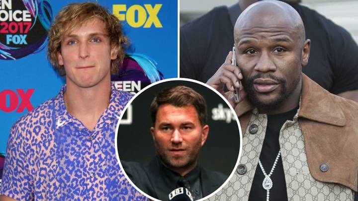 Eddie Hearn Gives Honest Verdict On Potential Floyd Mayweather Vs Logan Paul Super-Fight