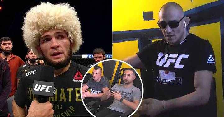 Tony Ferguson's Amazing Reaction To Khabib Retirement Shows How Much He Wanted The Fight