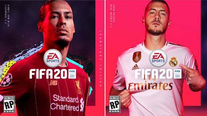 Virgil Van Dijk And Eden Hazard Revealed As FIFA 20 Cover Stars By EA Sports