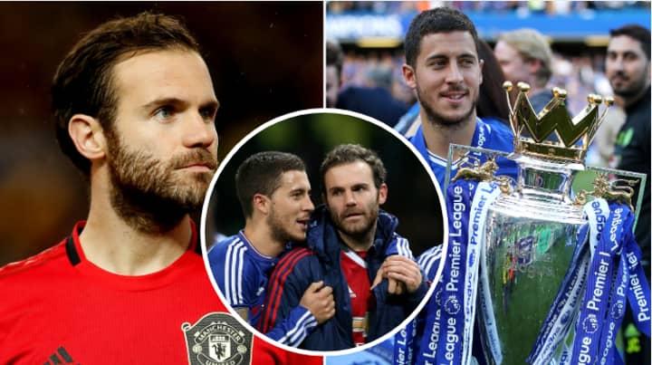 Juan Mata Names Eden Hazard As The Premier League's Greatest Ever Player