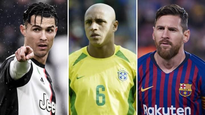 Roberto Carlos Snubs Both Cristiano Ronaldo And Lionel Messi In GOAT Debate