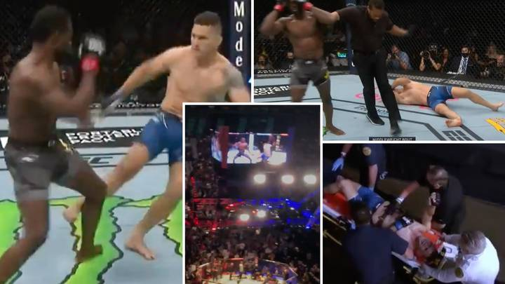 Footage Emerges Of Live Fan Reaction When Chris Weidman Suffered Horrific Leg Break In UFC 261 Clash