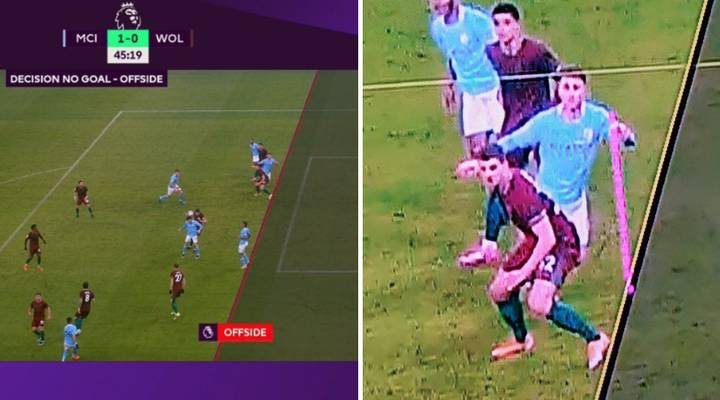 Aymeric Laporte's Goal Ruled Out By Controversial VAR Call As Man City Star's Shoulder Was Offside