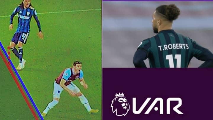 VAR Denies Leeds United Goal Against West Ham In Tight Offside Call