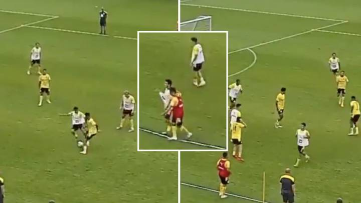 When Jadon Sancho Destroyed A Teammate With A Nutmeg So Filthy, He Walked Off The Pitch