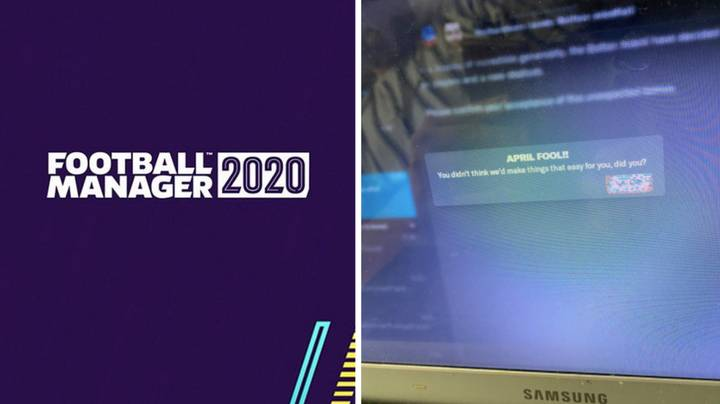 When Football Manager Left Players Devastated With Brutal 'April Fool's Day' Prank