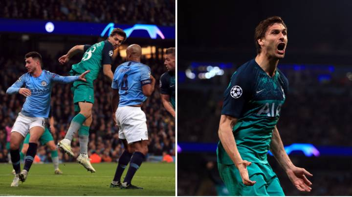 Spurs Fan Somehow Predicted Fernando Llorente Scoring The Winner With His Hip