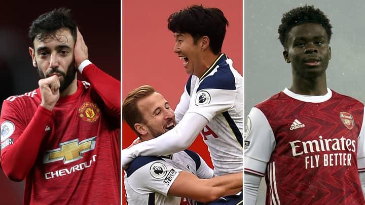 The Premier League Team Of The Season So Far Has Been Revealed