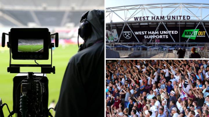West Ham United Vs Manchester United The First Premier League Game With Fans Since March