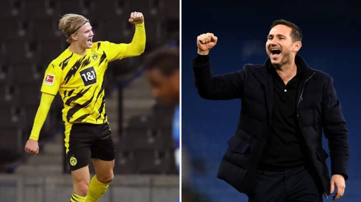 Chelsea Make Erling Haaland Their Top Transfer Target