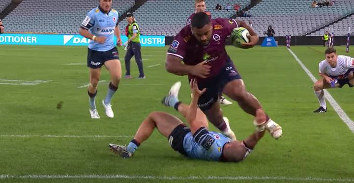 135kg Prop Taniela Tupou Goes Viral Thanks To 'Goose Step' Try