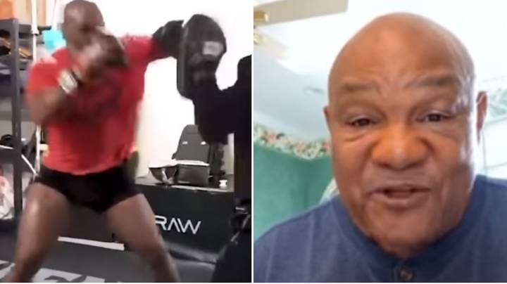 Boxing Legend George Foreman Spots Weakness In Mike Tyson's Punching Technique
