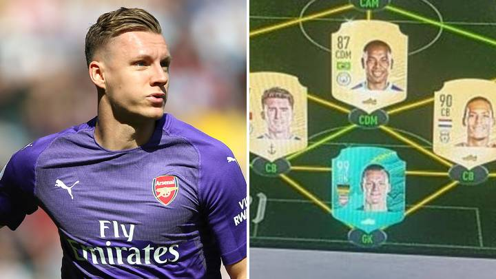Bernd Leno's FIFA 20 Ultimate Team Has A Frightening Attack Force