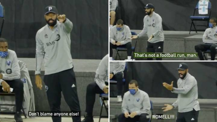 Montreal Impact Manager Thierry Henry Gets Mic'd Up On The Touchline And It's A Must-Watch