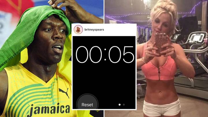 Britney Spears Claims She Has Broken Usain Bolt's 100-Metre Record By Four Seconds