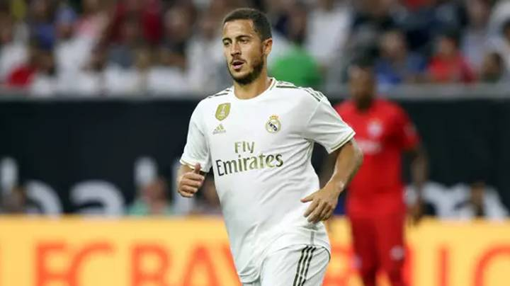 Eden Hazard Responds To Rumours He Was Overweight When He Returned For Real Madrid's Pre-Season