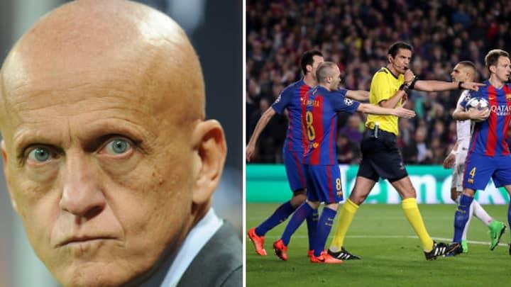 Referee Deniz Aytekin Set To Be Punished By UEFA