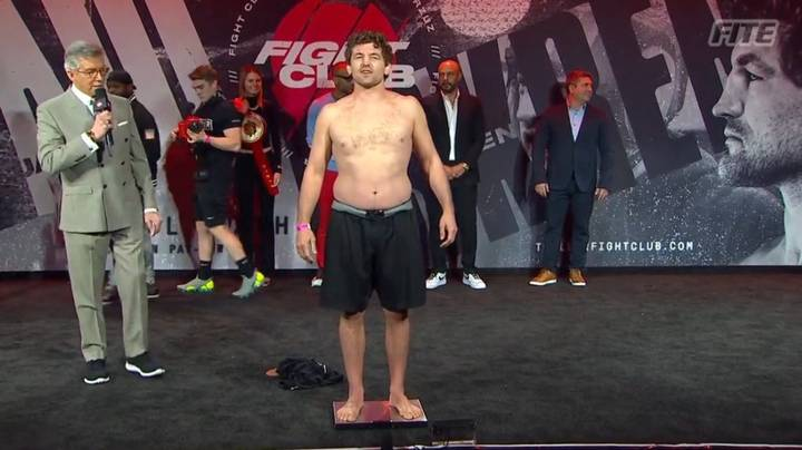 Jake Paul Mocks Ben Askren For Turning Up At Weigh-In With A 'Beer Belly'