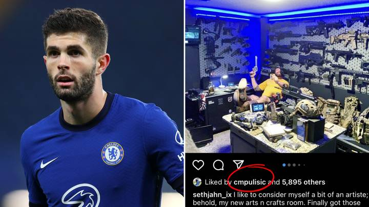 Christian Pulisic Reportedly 'Likes' Instagram Post Calling For 'Shooting Of Antifa Members'