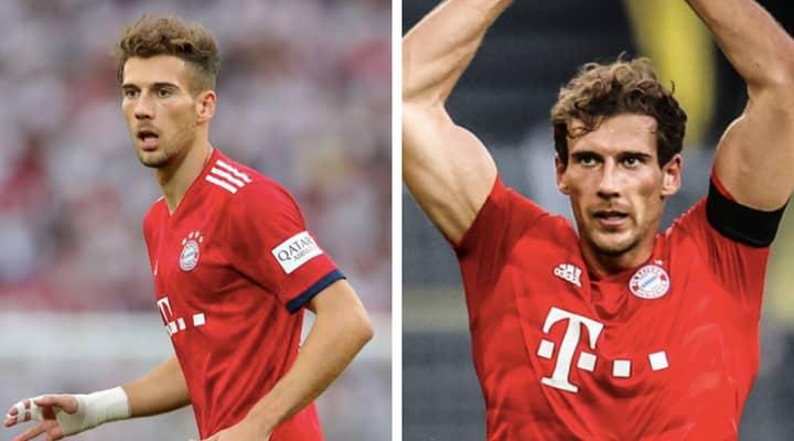 Bayern Munich's Leon Goretzka Has Undergone A Crazy Transformation While In Lockdown