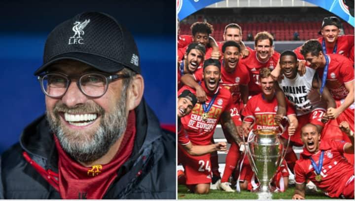 Jurgen Klopp Claims Bayern Munich Were 'A Little Lucky' To Win The Champions League