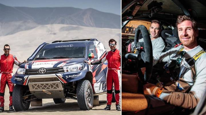 Andre Villas-Boas Taken To Hospital After Crash During Dakar Rally