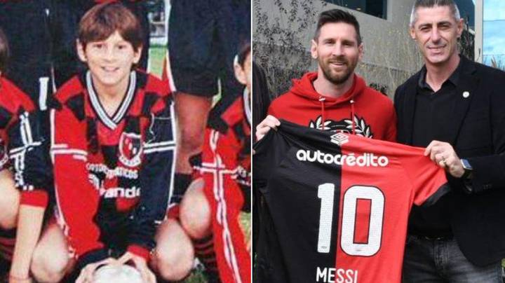 Lionel Messi's Youth Record For Newell's Old Boys Is Astonishing