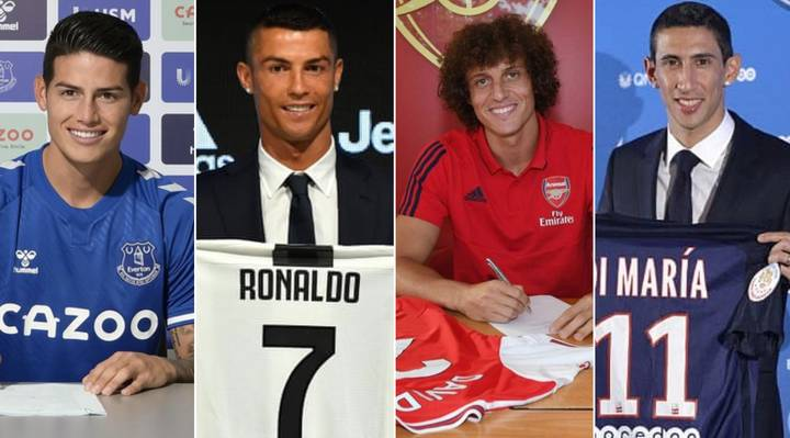 The Top 25 Players With The Highest Combined Transfer Fees