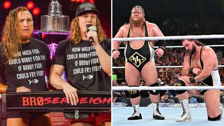 Otis Would Welcome Heavy Machinery's Return To NXT And Chance To Face The Broserweights