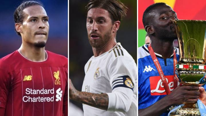 The Top 10 Centre-Backs In The World Right Now Have Been Ranked