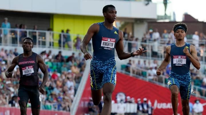 17-Year-Old Sprinter Erriyon Knighton Breaks Another Usain Bolt Record