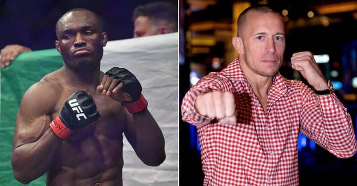Georges St-Pierre Responds To Kamaru Usman's Challenge At UFC 251