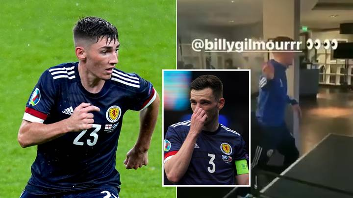 Andy Robertson Deletes Video Of Him Playing Ping-Pong With Covid-Positive Billy Gilmour