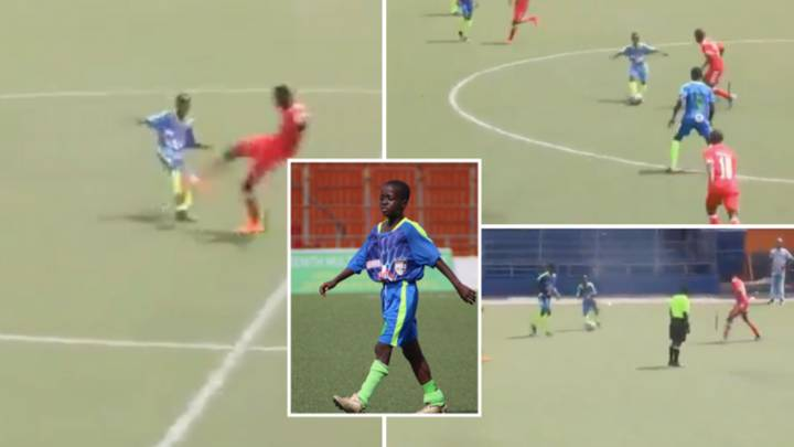 An 11-Year Old Is Playing Senior Football In Liberia And He's Tearing It Up