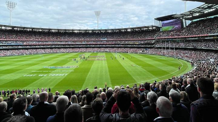 Melbourne Hosts World Record Crowd Of 78,000 At The AFL