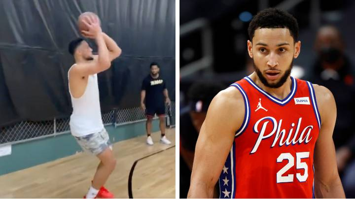 Ben Simmons Has Posted His Latest Workout Video And Fans Aren't Quite Sure What To Think