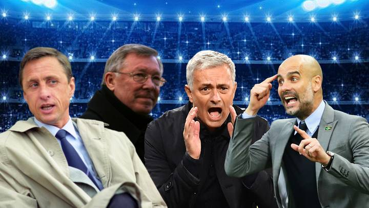 The 50 Greatest Football Managers Of All Time Have Been Revealed
