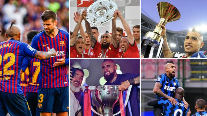 Gerard Pique Brutally Trolls Arturo Vidal After He Celebrates 12th League Title In 15 Years