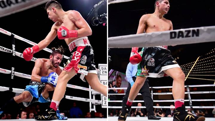 Pablo César Cano Destroys Jorge Linares In The First Round Of The Fight