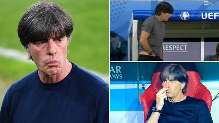 Germany Manager Joachim Low Reveals Bizarre Explanation For His Infamous Scratch And Sniff