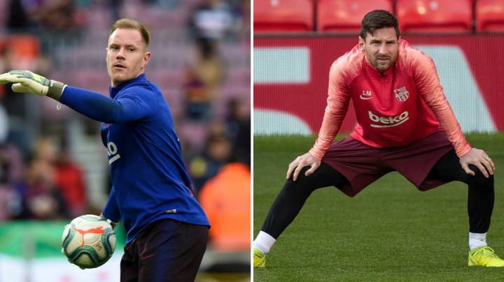 Lionel Messi Had Training Ground Bust Up With Marc-Andre Ter Stegen