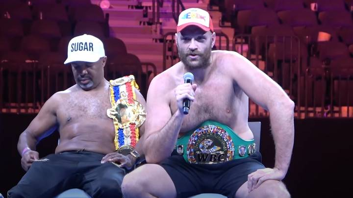 Boxing Fans Believe A Journalist Asked Tyson Fury Perhaps The Worst Post-Fight Question In History