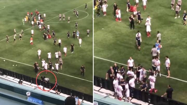 Liverpool's Virgil van Dijk Angrily Confronted Joris Gnagnon At Full Time
