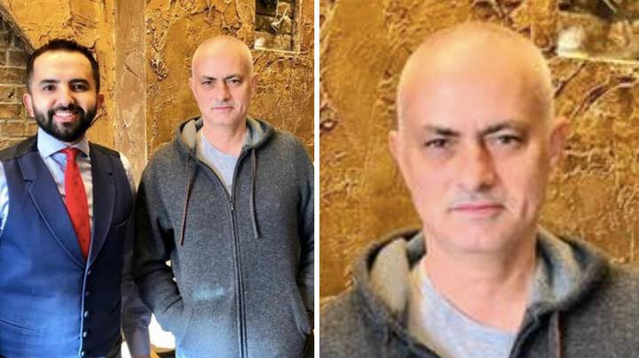 Jose Mourinho Has Shaved All Of His Hair Off