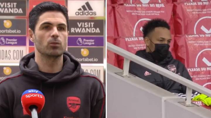 Why Arsenal Captain Pierre-Emerick Aubameyang Was Dropped For North London Derby Against Tottenham