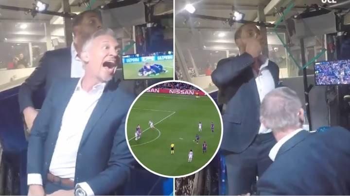 Rio Ferdinand And Gary Lineker Go Absolutely Mad For Lionel Messi's Stunning Champions League Free-Kick