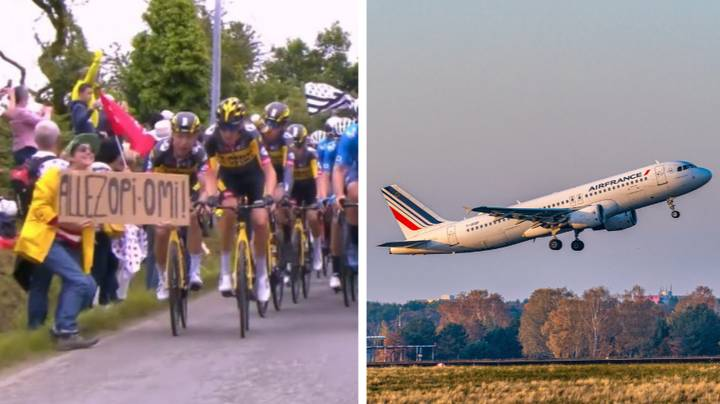 Spectator Who Caused Huge Tour De France Crash Flees The Country As Police Ramp Up Search
